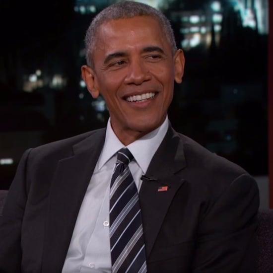President Obama Talks About Trump Tape on Jimmy Kimmel Live