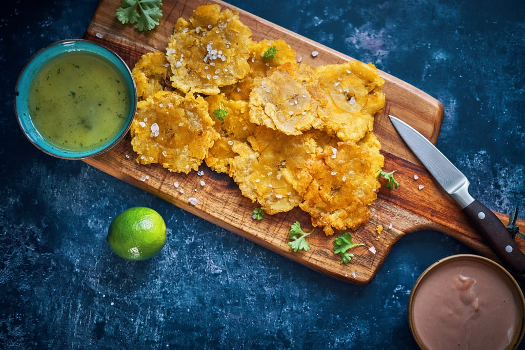 Tostones (Smashed Plantains)