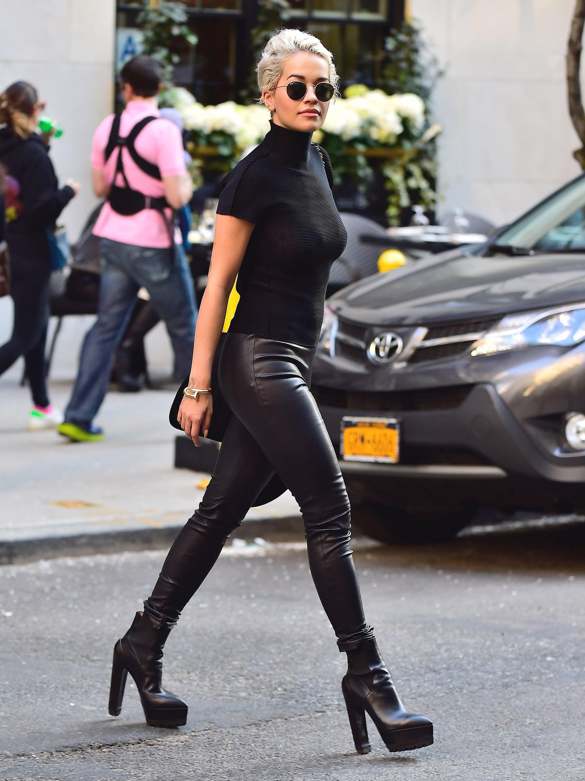 Rita Ora Street Style 2015