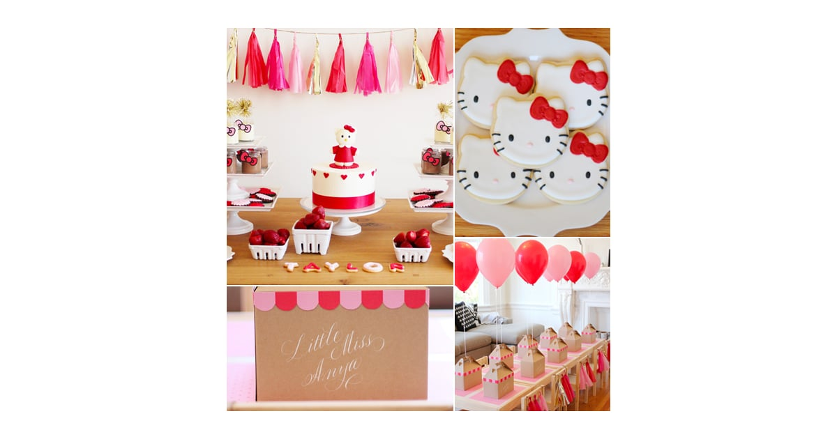 A Modern Hello Kitty Birthday Party Best Birthday Party Ideas For