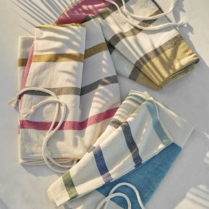 West Elm Throw Blanket New West Elm Alfresco Stripe Picnic Throw Best Picnic Blankets