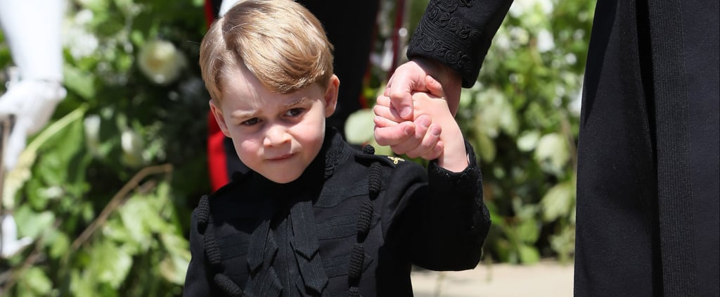 Reactions to Prince George's Pants at the Royal Wedding