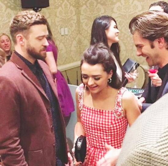 Maisie Williams Instagram With Justin Timberlake Jan. 2017