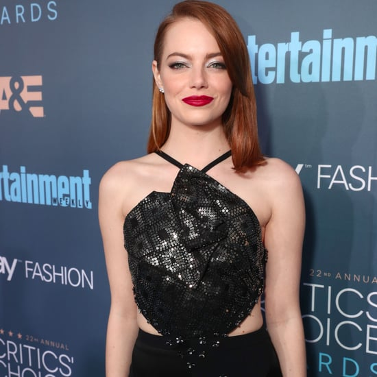 Emma Stone and Andrew Garfield 2017 Critics' Choice Awards