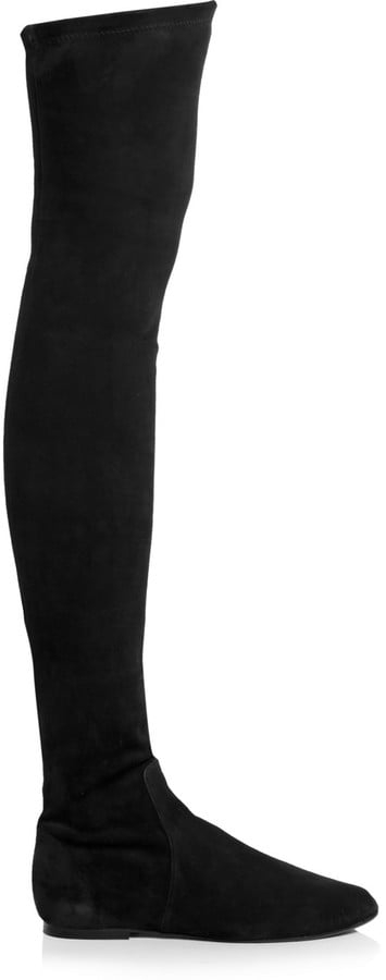 Isabel Marant Brenna Suede Over-the-Knee Boots ($1,035)