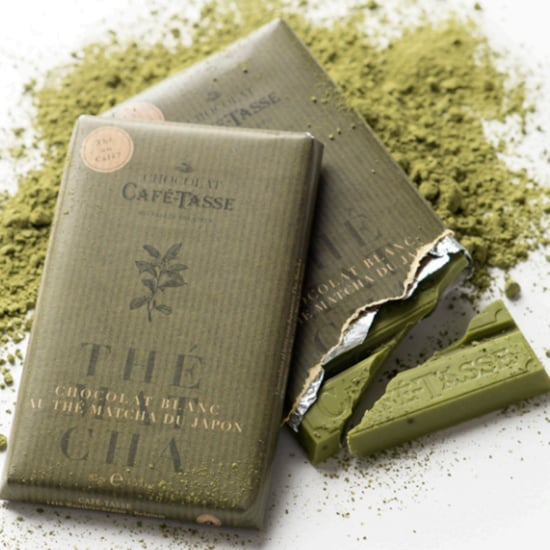 Matcha- and Green-Tea-Infused Chocolate Bars
