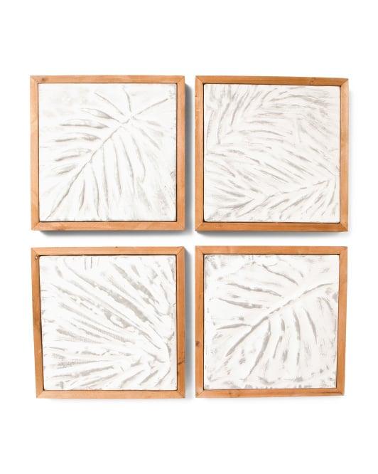 Set of 4 Palm Wall Prints