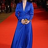 Meryl wore a cobalt blue Lavin gown to the opening night of the BFI London Film Festival in 2015.