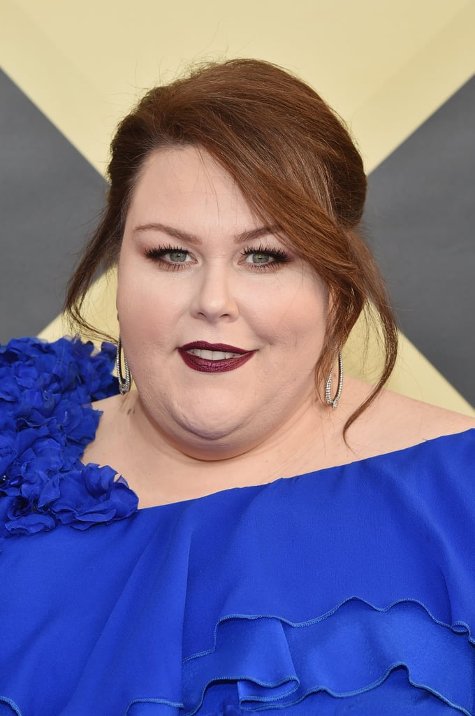 Chrissy Metz's Blue Dress at SAG Awards 2018