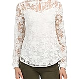 NYDJ Victorian Lace Blouse