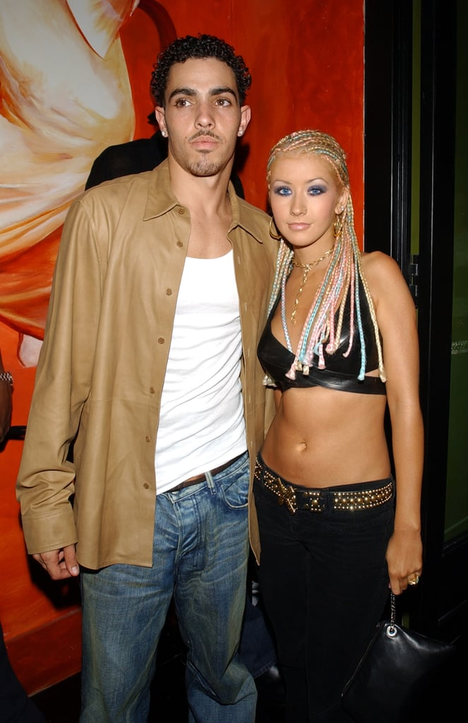 Christina Aguilera and Jorge Santos, 2000