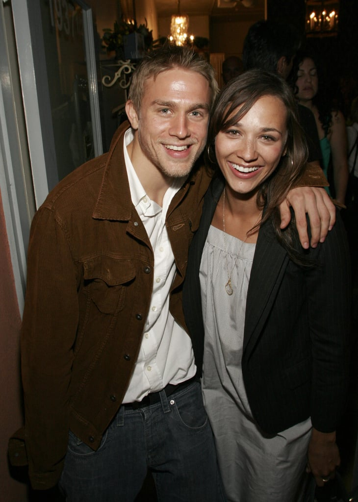 Charlie Hunnam and Rashida Jones hung out together at a ...