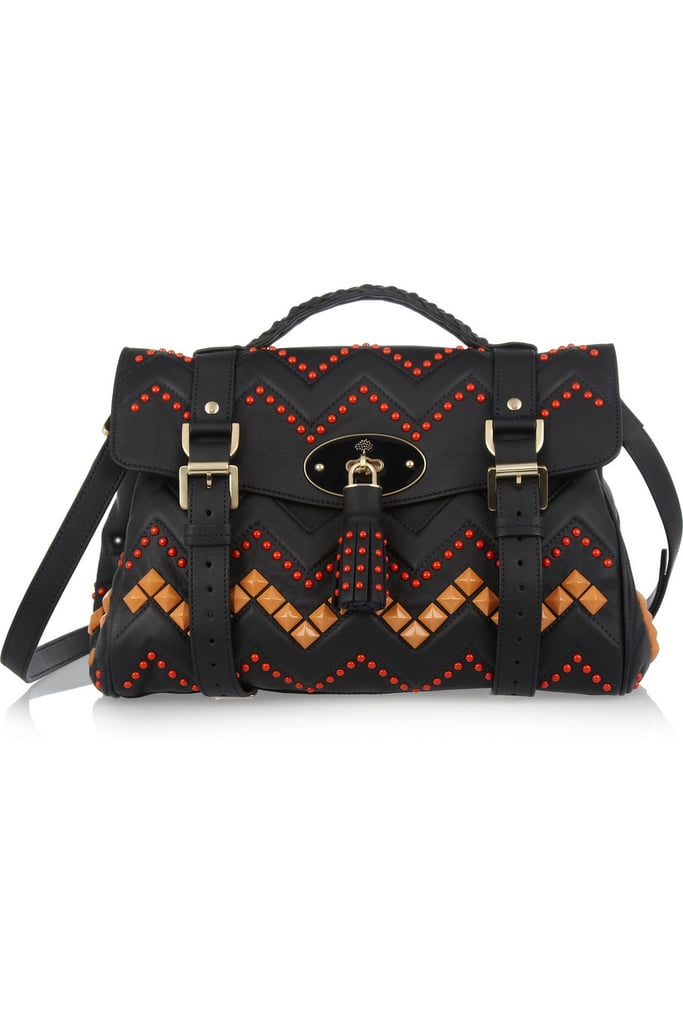 We got this Mulberry Zig-Zag Bag ($2,750) in the office a few months ago for a video shoot, and it was an immediate hit. It's one of those pieces that has enough personality with its colorful embellishments to instantly update a look for Fall, while also being neutral enough — and large enough — to become your go-to day bag for the season. It may be a serious investment, but you will use this bag, and love it, forever.  — Robert Khederian, fashion editorial assistant