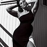 Ashley Graham wears a Cushnie et Ochs dress.