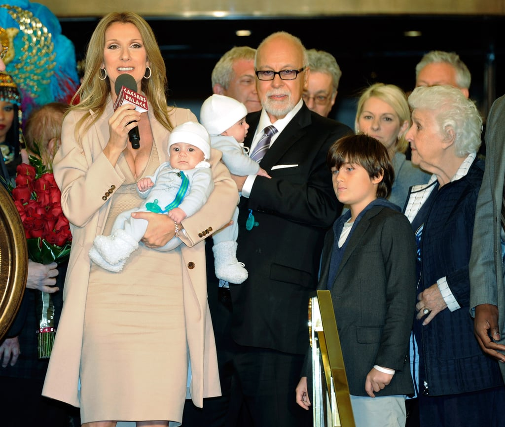 Pictures Of Celine Dion And Rene Angelil At Caesars Palace