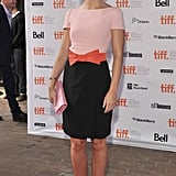 For Your Sister's Sister premiere, Emily Blunt opted for a sweet, bow-adorned sheath.