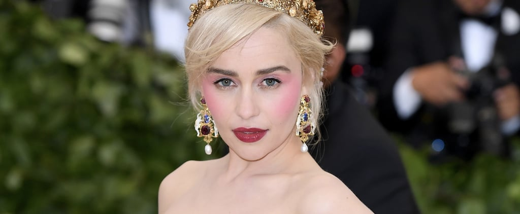 Emilia Clarke's Hair and Makeup at the 2018 Met Gala