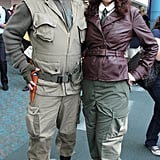 Dum Dum Dugan and Agent Carter