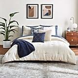 Scott Living Luxe Deco Fan Full/Queen Comforter Set & Throw Pillow Collection