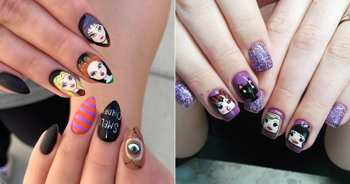27 Bewitching Hocus Pocus Manicures You'll Definitely Want to Copy This Halloween
