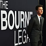 Edward Norton attended the world premiere of The Bourne Legacy in NYC.