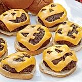 Jack-o'-Lantern Cheeseburgers