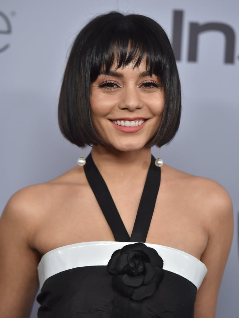 Vanessa Hudgens's Sleek Bob in 2018