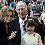 Bonnie Bedelia as Camile, Craig T. Nelson as Zeek, and Savannah Page Rae as Sydney on Parenthood.