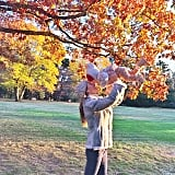 Gisele Bündchen had some outdoor fun with her baby daughter, Vivian Brady. Source: Instagram user giseleofficial