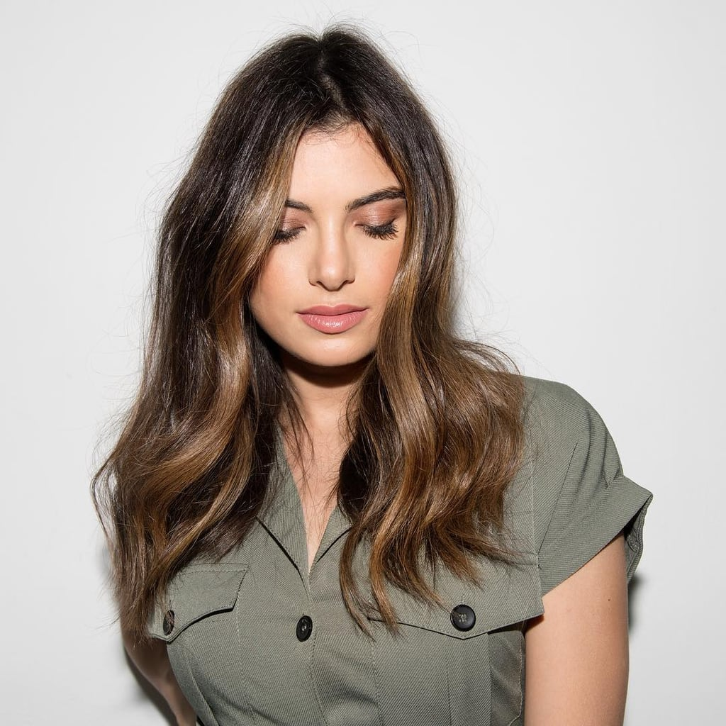 Dark Hair Color Trends 2019: The Technique Behind A Negative Space Hair Color