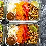 Vegan Spring Roll Bowls