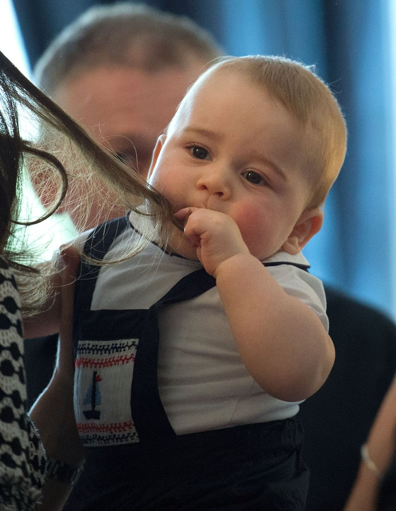 Prince George Kicks Off His Royal Duties With a Lively Playgroup