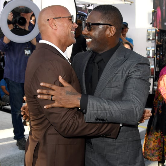 Dwayne Johnson and Idris Elba Friendship Pictures
