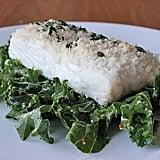 Dinner: Panko-Crusted Fish