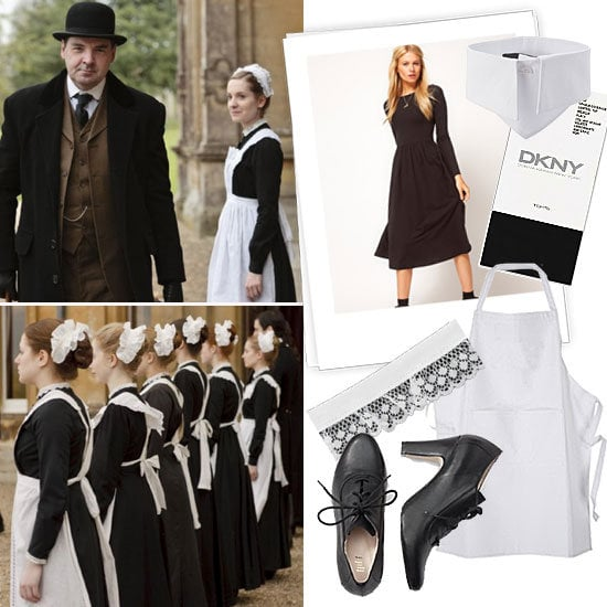 Thanks to the upstairs/downstairs drama and romance — and, of course, Maggie Smith — we're officially hooked on Downton Abbey. What better way to show you're a fan than to dress the part for Halloween?