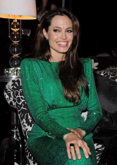 Pictures of Angelina Jolie Laughing At Sony Golden Globes Afterparty, Plus Andrew Garfield and Emma Stone