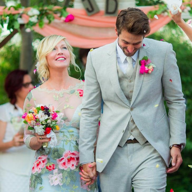 Jennie Garth Wedding Pictures Popsugar Celebrity