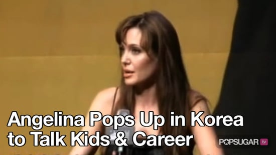 Video of Angelina Jolie at the Salt Premiere in Korea 2010-07-28 10:25:57
