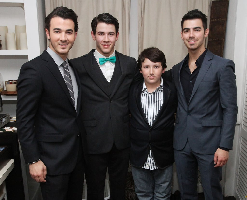 Kevin, Joe, Nick, and Frankie Jonas