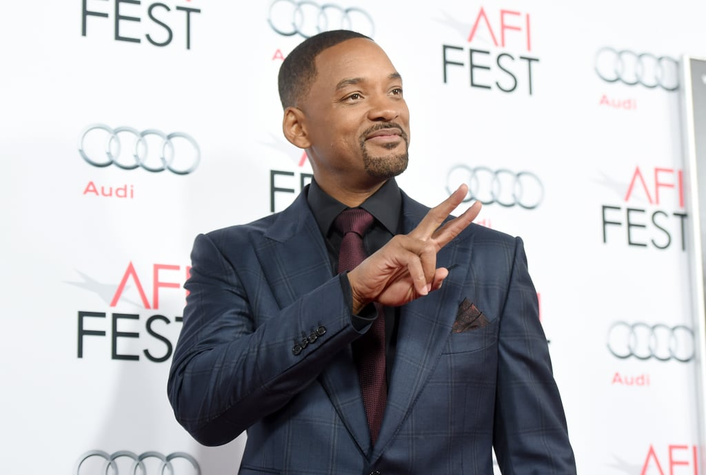 It seems as though Will Smith — much like his lovely wife, Jada — has yet to begin the aging process. The actor hit the red carpet for the premiere of his new film Concussion during AFI Fest in LA on Tuesday, and we couldn't ignore the fact that he looks pretty much exactly the same as when he first won our hearts on The Fresh Prince of Bel-Air over 25 years ago. Will posed for photos with a few of his costars, Mike O'Malley, Paul Reiser, and Albert Brooks, as well as Dr. Bennet Omalu, the forensic neurologist he portrays in the film.  Will made a return to the red carpet at the Hollywood Film Awards last week, where he mingled with other stars like Johnny Depp, Reese Witherspoon, and Jamie Foxx. We'll likely get to see more of him as he gears up to promote Concussion before its release on Christmas Day. Keep reading to see photos from Will's latest youthful outing, then check out 11 reasons he'll always be the Fresh Prince.