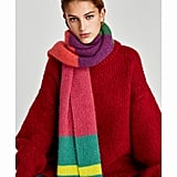 Zara Multicolored Soft Scarf