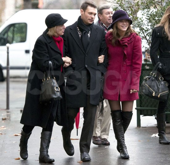 Photos of Ryan Seacrest and Julianne Hough