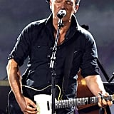 Bruce Springsteen performed at the MusiCares event.