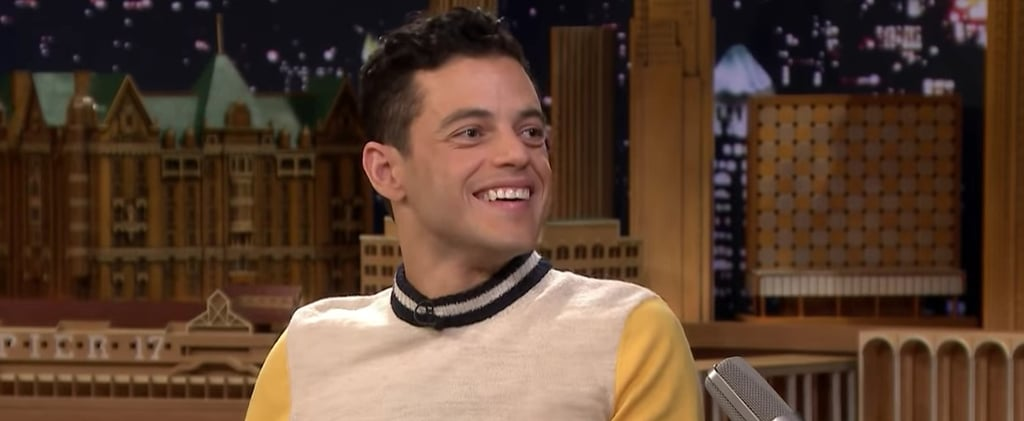 Rami Malek Talks About Freddie Mercury Jimmy Fallon Video