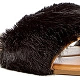 Instead of your flip-flops, slip into these Nature Breeze Furry Faux Fur Sandals ($60).
