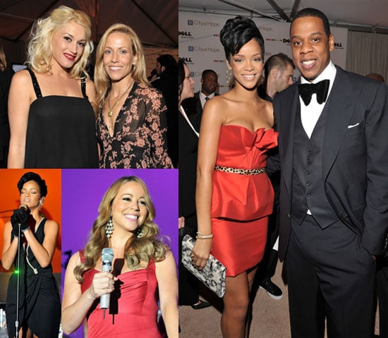 Photos of Gwen Stefani, Sheryl Crow, Rihanna, Jay-Z at Spirit of Life Award Dinner