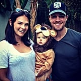He wished followers a happy Halloween in 2014, sharing a ridiculously cute pic of Mavi in her lion costume.