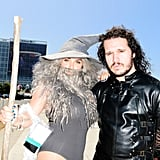 Sexy Gandolf and Jon Snow