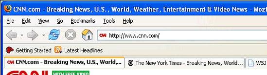 Retrieve Closed Firefox Tabs