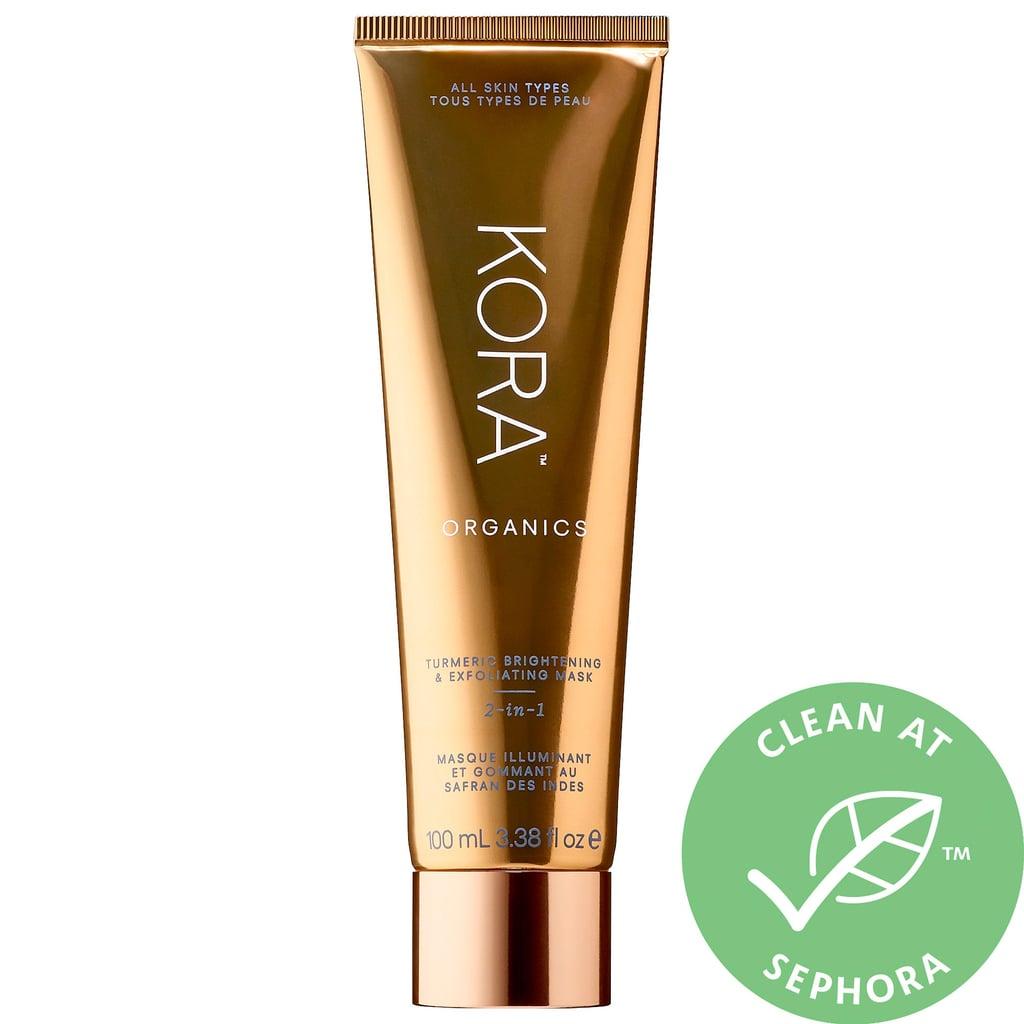 Kora Organics Turmeric 2-in-1 Brightening & Exfoliating Mask